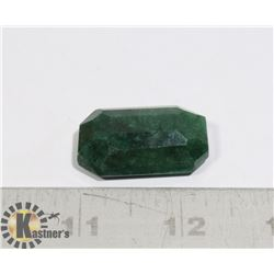 #61-GREEN EMERALD GEMSTONE 73.20ct
