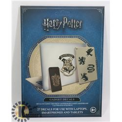 NEW HARRY POTTER 27PC GADGET DECAL SET