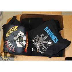 BOX OF ROCK SHIRTS