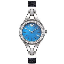 NEW ARMANI CLASSIC WATCH M-OF-PEARL DIAL MSRP $403