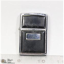 1942 -1946 ZIPPO LIGHTER BLACK CRACKLE