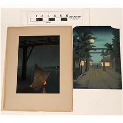 Yoshimune Block Prints (2)  (122802)