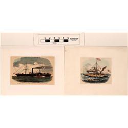 Civil War Marine Prints  (122803)