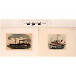 Civil War Marine Prints  (122803)