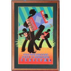 Framed Mardi Gras Posters (2)  (125226)
