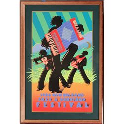 Framed Mardi Gras Posters (2)  (125226)
