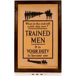 English WW1 Recruiting Poster  (125044)