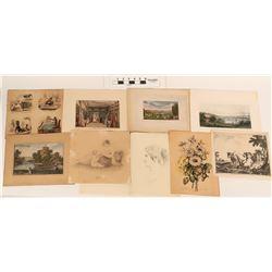 European Prints, pre-1851  (124621)