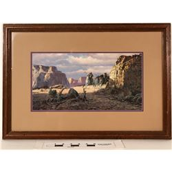Framed Print by Frank Magsino  (125007)