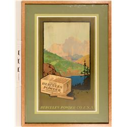 Hercules Powder Poster - Exquisite, 1917 American Litho Co.  (125063)