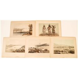 Lithographs from an Early Railroad Survey: Mojave Indians  (124314)