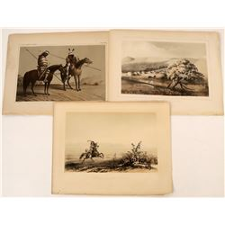 Lithographs from an Early Railroad Survey: Western Indians  (124312)