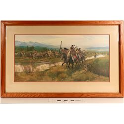 Nez Perce 1877 Escape from the Big Hole by John Clymer  (125001)