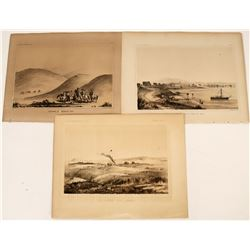 Northern California Lithographs from an Early Railroad Survey  (124311)
