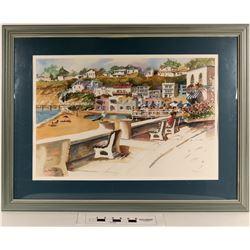 Santa Cruz Framed Print by Sally Bookman  (124997)
