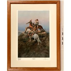 The Scouts - Limited Edition Print by Charles M Russell  (125004)