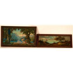 Two Vintage Arte Deco Prints  (117700)