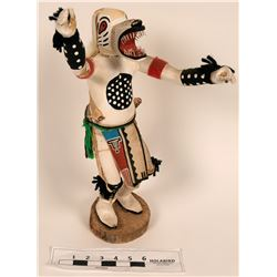 Navajo Wolf Kachina Doll  (122772)