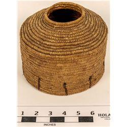 Alaska Two-Tone Bottle Neck Basket   (124483)