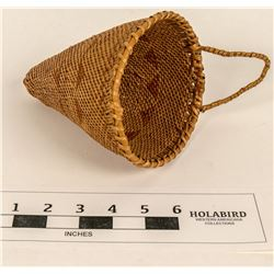 Miniature Washoe Seed Gathering Basket  (124485)