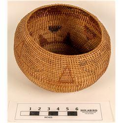 Washoe Gap-Stitch Polychrome Basket  (124486)