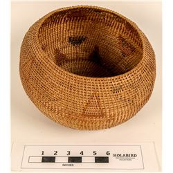 Washoe Gap-Stitch Polychrome Basket  (124486)