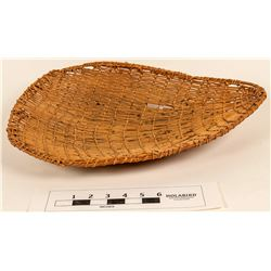 Washoe Pine Nut Winnowing Basket  (124482)