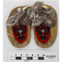 Beaded Mocassins from the Pacific Northwest  (124245)