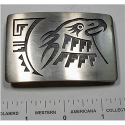 Hopi Eagle Head Belt Buckle  (125179)