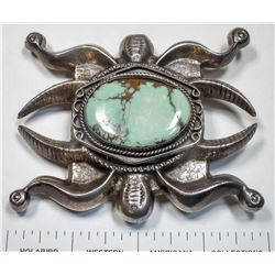 Navajo Tufa Cast Buckle  (125178)
