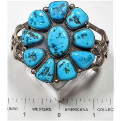 Ella Peter Turquoise Cluster Bracelet  (125168)
