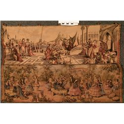 Two Belgium Made Tapestries   (108736)
