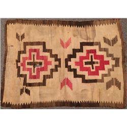 Navajo Wedding Rug - Vintage!  (121252)