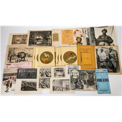 Chinese in U. S. Photos Sketches & Ephemera Collection  (125792)