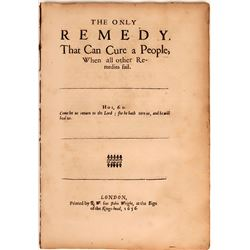 17th Century Christian Tract  (124646)