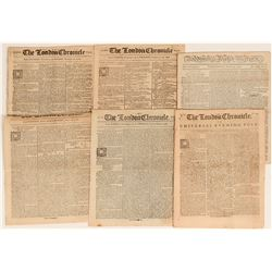 London Chronicle looks at America in the 1764-1787  (123184)