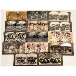 Asian African Stereoview Life Images  (119371)