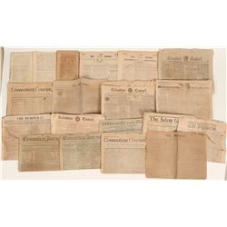 American newspapers from 1785 to 1805  (123102)