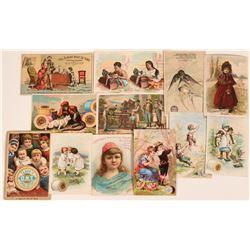 Singer Sewing Machine Trade Cards  (124104)