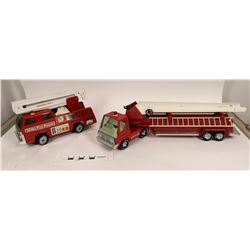 Tonka & Nylint Toy Fire Trucks (Lot of 4)  (125300)