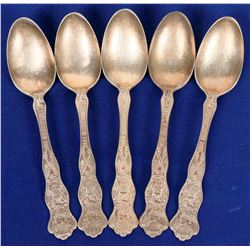 Pan-Pacific Expo. commemorative spoons  (121567)