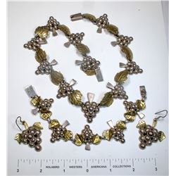 Taxco Mexican Silver Jewelry  (124859)