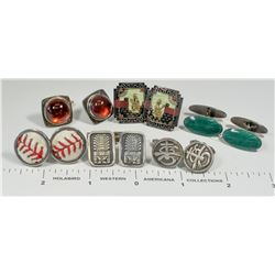 Miscellaneous Cufflinks - 6 pairs  (124840)