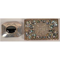 Silver Belt Buckles  (124093)