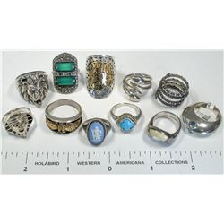 Various Women's and Men's Rings  (124844)