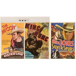 Tim McCoy & Buck Jones, King Kong Movie Poster Reproductions  (122041)