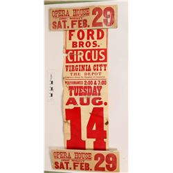 Circus Banner & Piper's Event Signs  (122048)