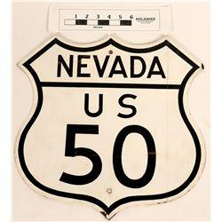 U. S. 50 Highway Sign  (124620)