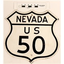 U. S. 50 Highway Sign  (124620)