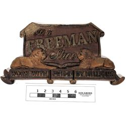 Freeman Shoe 3D Advert Sign  (125184)